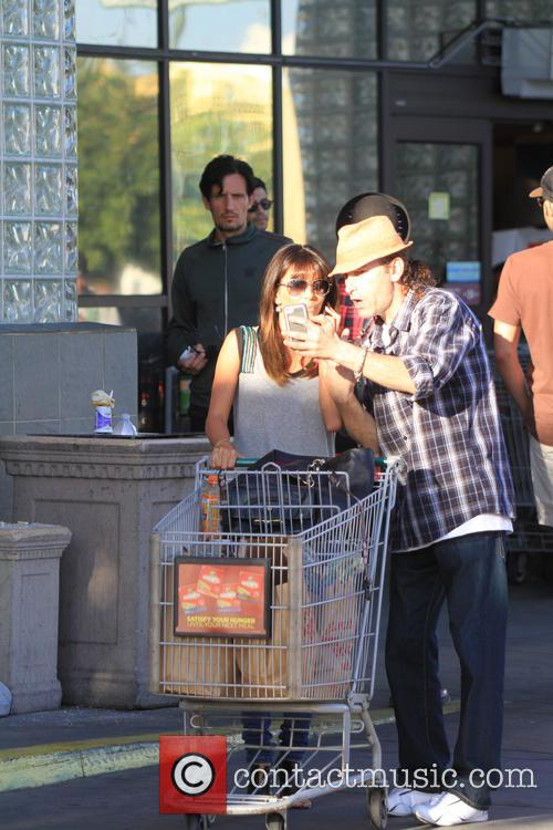Eva Longoria Shopping At Ralphs