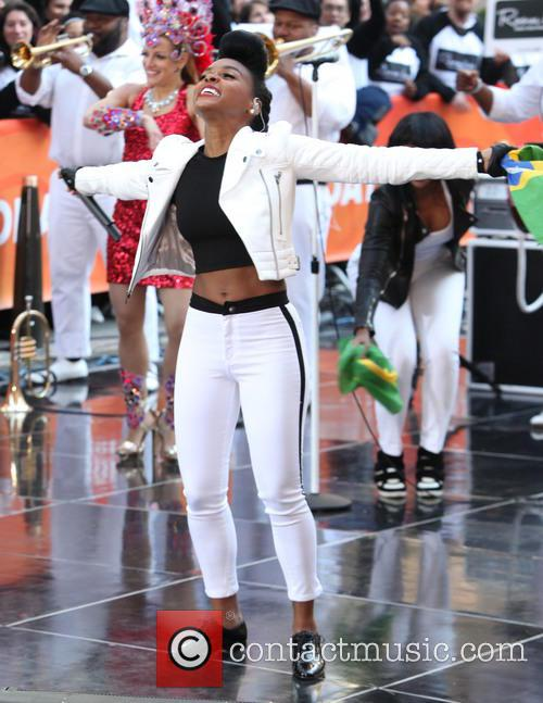 Janelle Monae performs on 'Today'