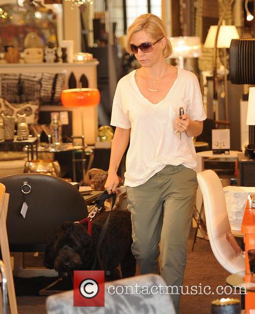 jennie garth jennie garth with her dog 4147586