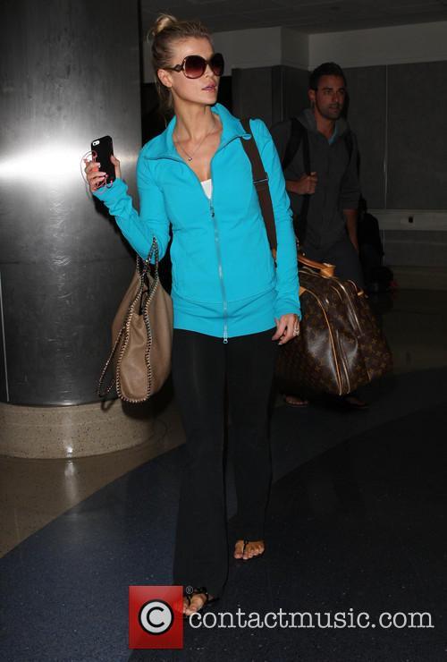 Joanna Krupa At LAX