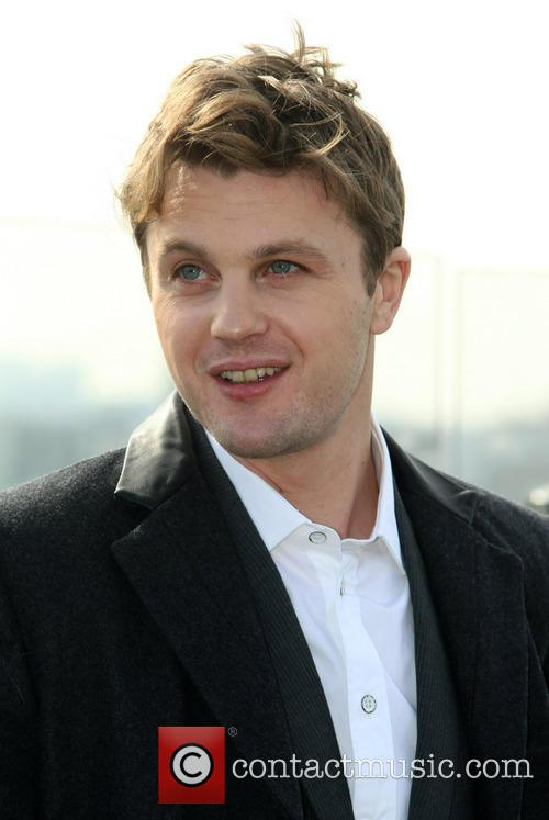 Michael Pitt attends a photocall for his new...
