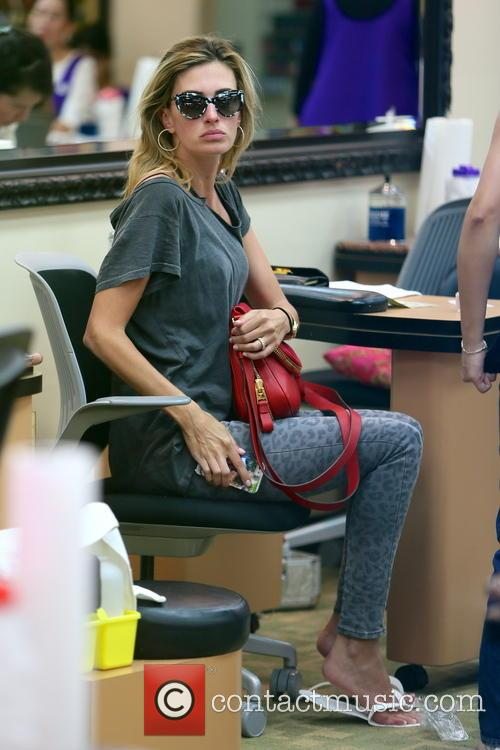 Rhea Durham At A Nail Salon