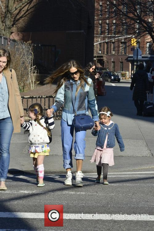 Sarah Jessica Parker, Tabitha Broderick and Marion Broderick 2