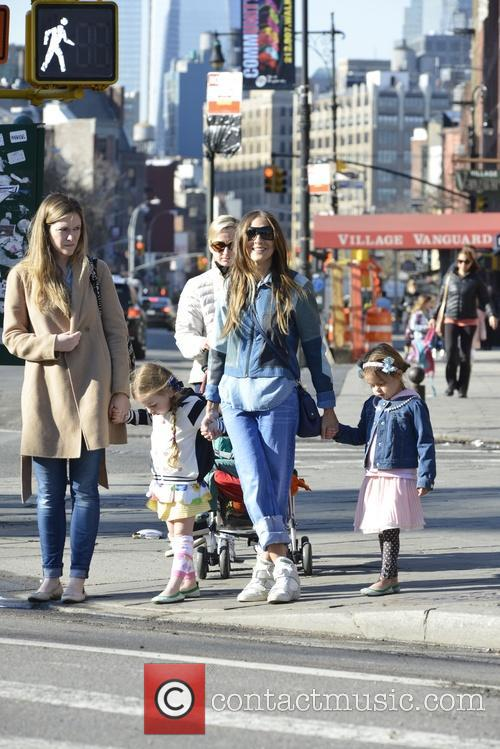 Sarah Jessica Parker, Tabitha Broderick and Marion Broderick 7