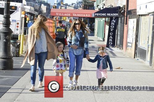 Sarah Jessica Parker, Tabitha Broderick and Marion Broderick 48