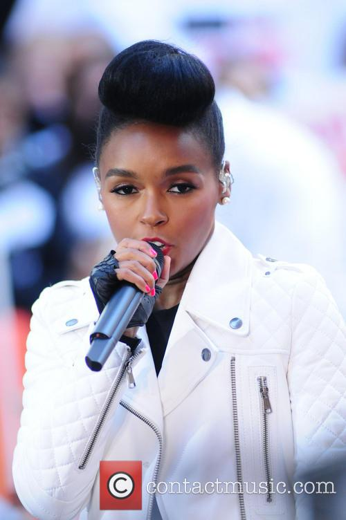 Janelle Monae performs at Today Show