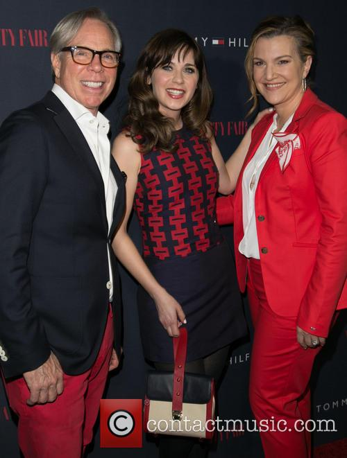 Tommy Hilfiger, Zooey Deschanel and Krista Smith 4