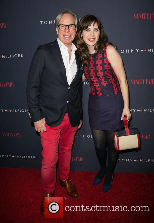 Zooey Deschanel and Tommy Hilfiger debut collection launch...