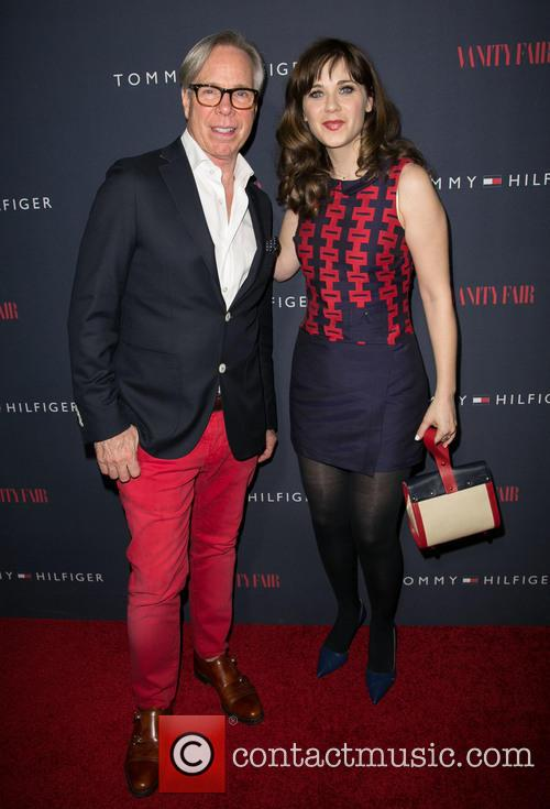Tommy Hilfiger and Zooey Deschanel 6