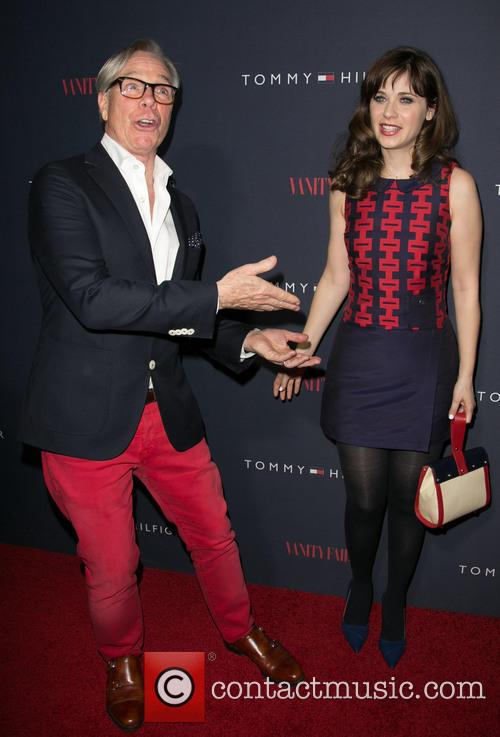 Tommy Hilfiger and Zooey Deschanel 8