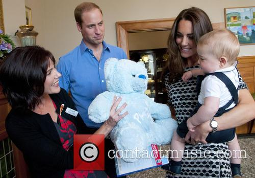 Prince George at a Plunket Play Group at...