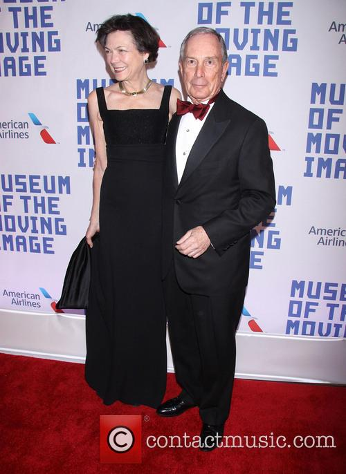 Diana Taylor and Michael Bloomberg 2