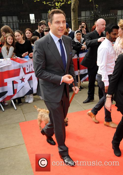 David Walliams at The BGT Press Call