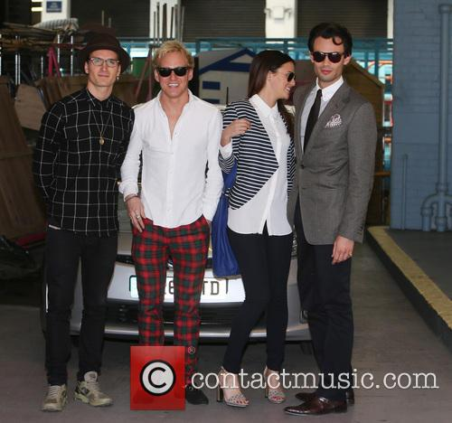 Lucy Watson, Jamie Laing, Mark-francis Vandelli and Ollie Proudlock 3
