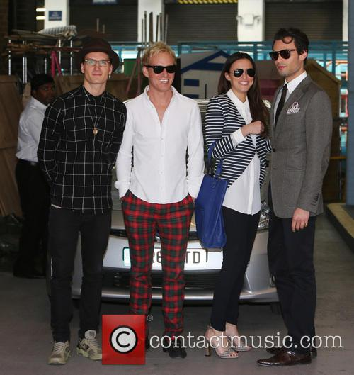 Lucy Watson, Jamie Laing, Mark-francis Vandelli and Ollie Proudlock 5