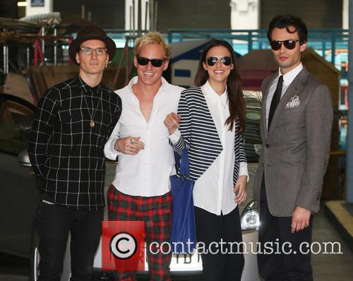 Lucy Watson, Jamie Laing, Mark-francis Vandelli and Ollie Proudlock 10