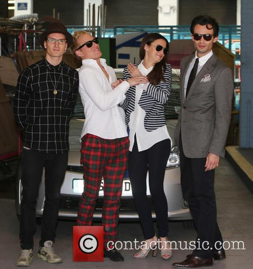 Lucy Watson, Jamie Laing, Mark-francis Vandelli and Ollie Proudlock 11