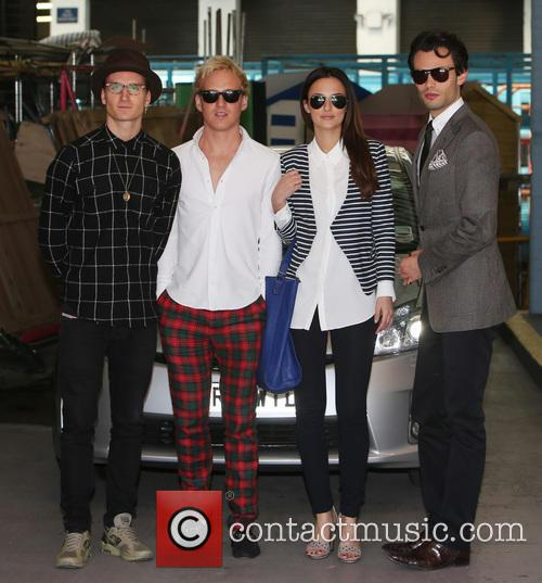 Lucy Watson, Jamie Laing, Mark-Francis Vandelli and Ollie Proudlock 8