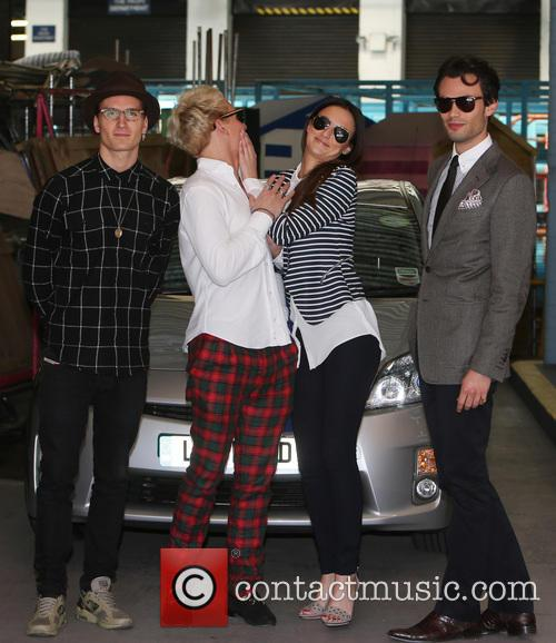 Lucy Watson, Jamie Laing, Mark-Francis Vandelli and Ollie Proudlock 1