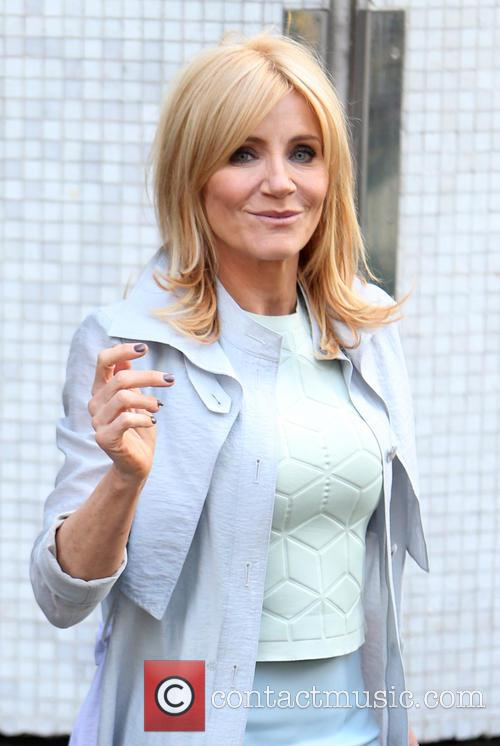 michelle collins celebrities at the itv studios 4147071