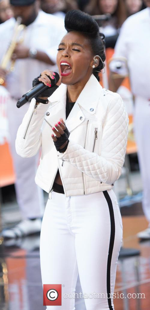 Janelle Monae performs on the 'Today' show