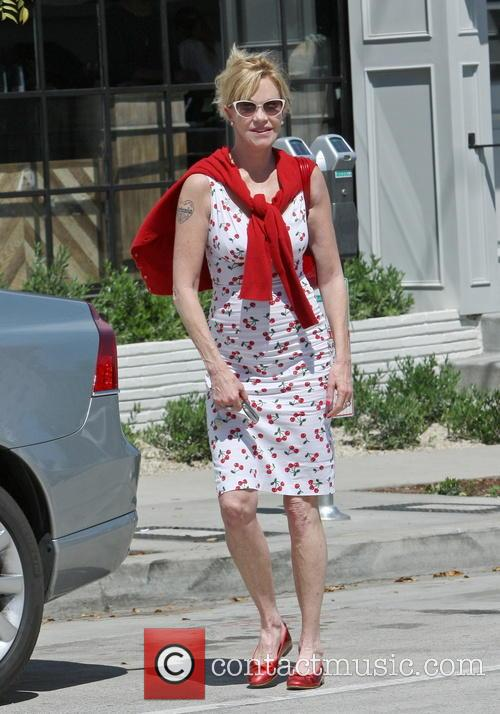 Melanie Griffith gets A Parking Ticket