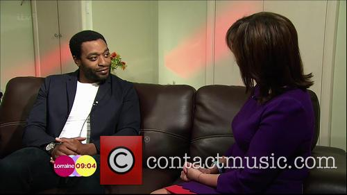 Chiwetel Ejiofor and Lorraine Kelly 4
