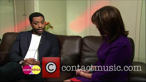 Chiwetel Ejiofor and Lorraine Kelly 5