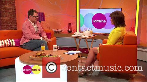 Lorraine Kelly and Alan Carr 2