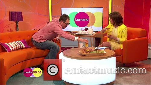 Lorraine Kelly and Alan Carr 1