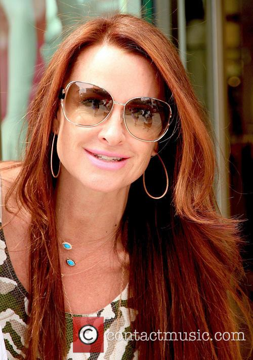 Kyle Richards spotted on Brighton Way in Beverly...