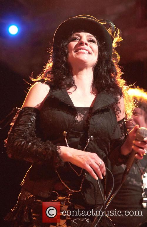 Patti Russo performing live in concert