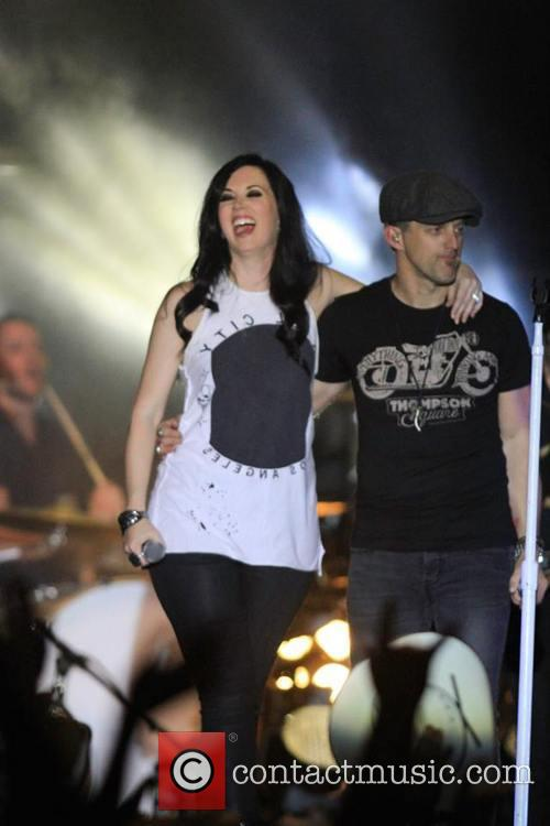 Thompson Square, Thompsonsquare, Shawnathompson and Keiferthompson 4