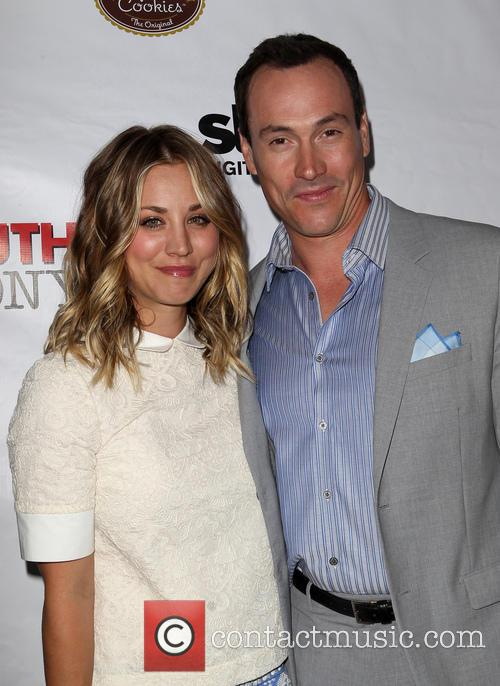 Kaley Cuoco-sweeting and Chris Klein 6