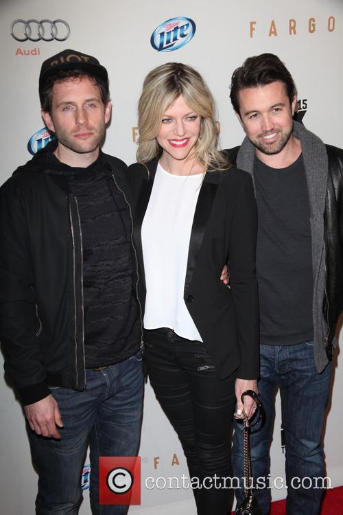 Glenn Howerton, Kaitlin Olson and Rob Mcelhenney 6