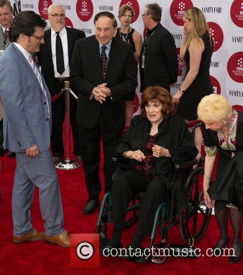 Ben Mankiewicz, Richard Sherman, Maureen O'hara and Elizabeth Sherman 2