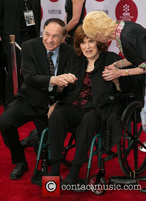 Richard Sherman, Maureen O'hara and Elizabeth Sherman 3
