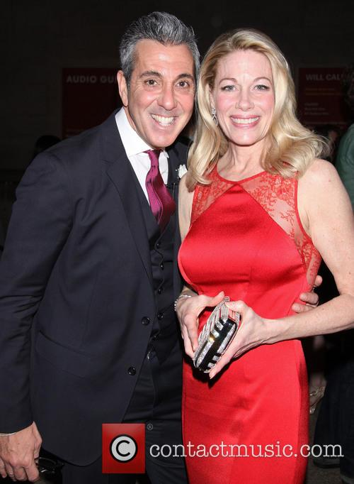 Bullets Over Broadway, George Brescia and Marin Mazzie 8
