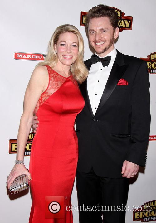 Bullets Over Broadway, Marin Mazzie and Jason Danieley 7