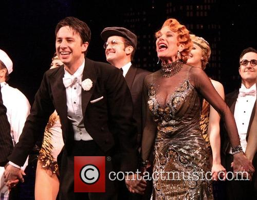 zach braff marin mazzie opening night bullets over 4151017