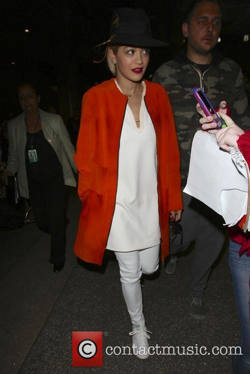 Rita Ora, Los Angeles International Airport LAX
