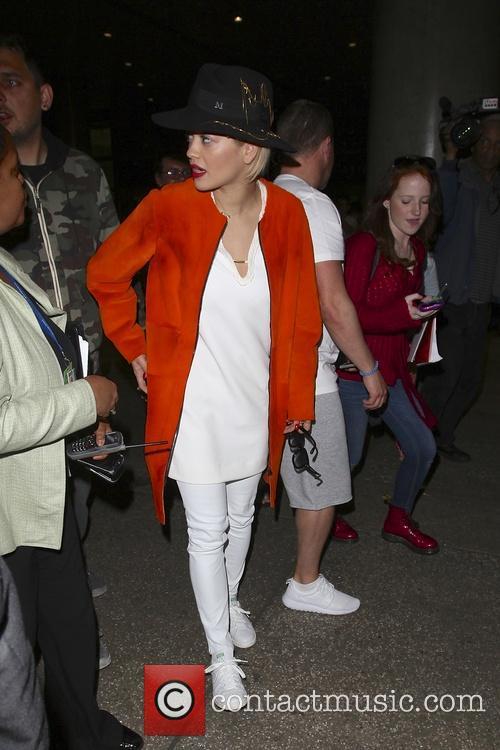 Rita Ora, Los Angeles International Airport LAX