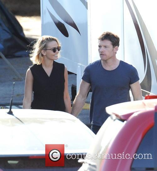 Sam Worthington and Lara Bingle 3