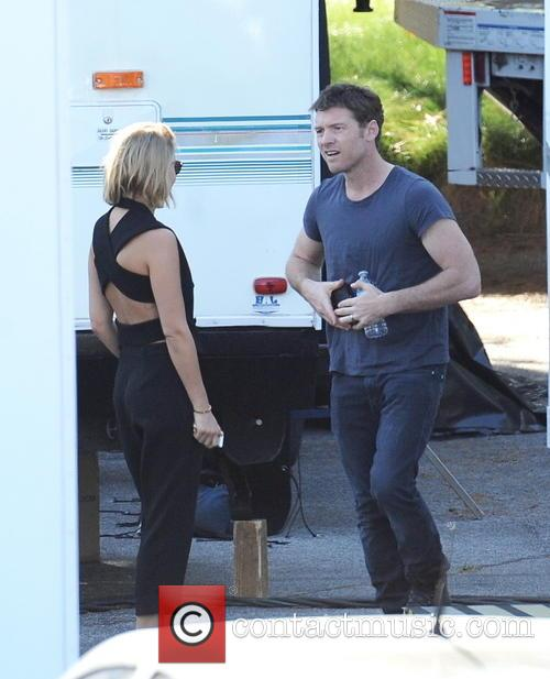 Sam Worthington and Lara Bingle 1