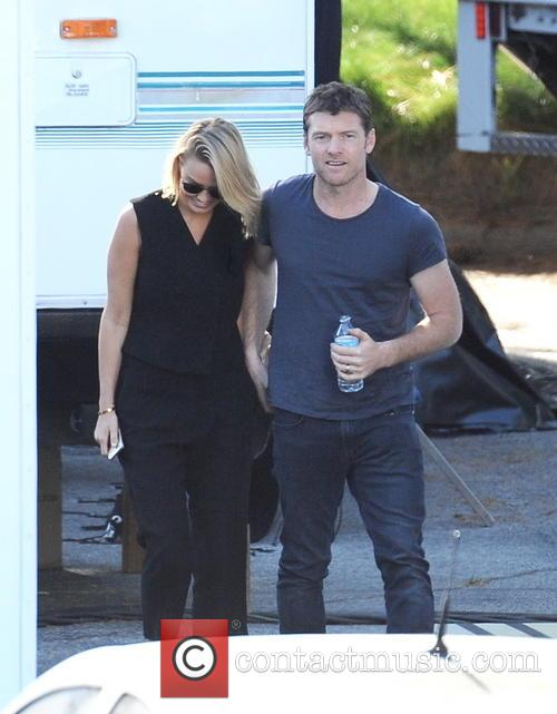 Sam Worthington and Lara Bingle 5