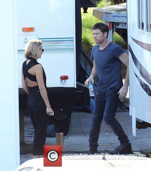 Sam Worthington and Lara Bingle 6
