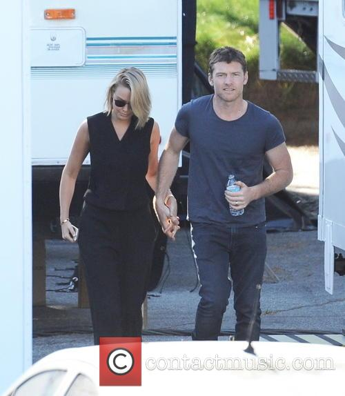 Sam Worthington and Lara Bingle 11