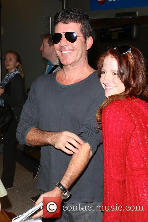 Simon Cowell, Los Angeles International Airport LAX