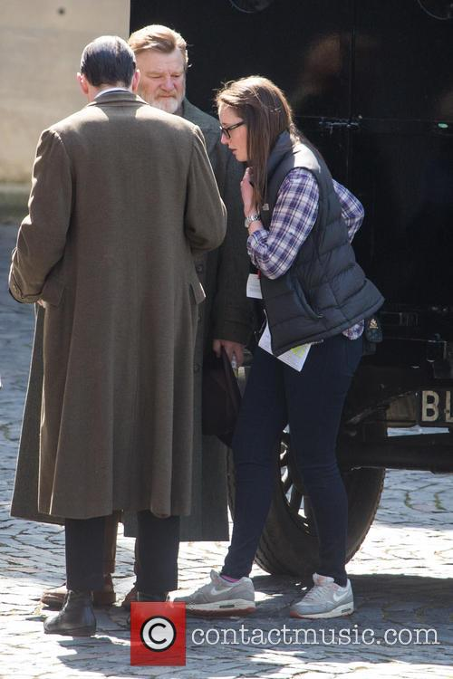 'Suffragettes' filming on location in London