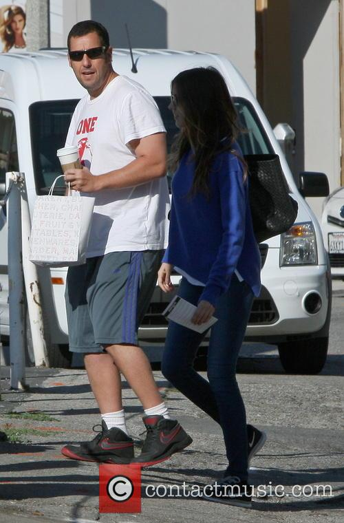 Adam Sandler and Jackie Sandler 2